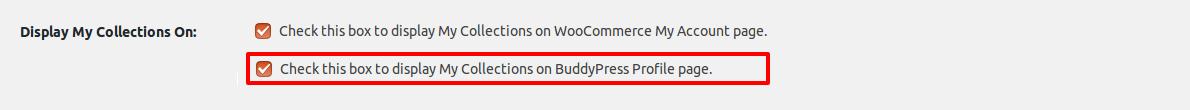 Buddypress settings 1