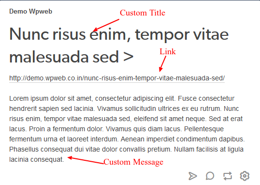 Tumblr wallpost text
