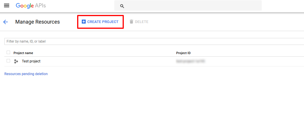 Google step 1