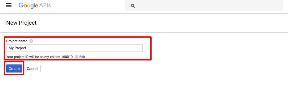 Google step 2