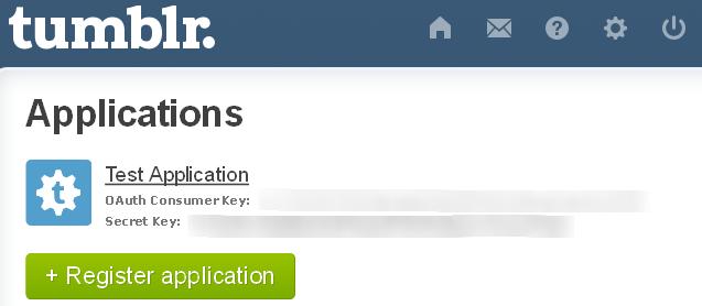 App secret key